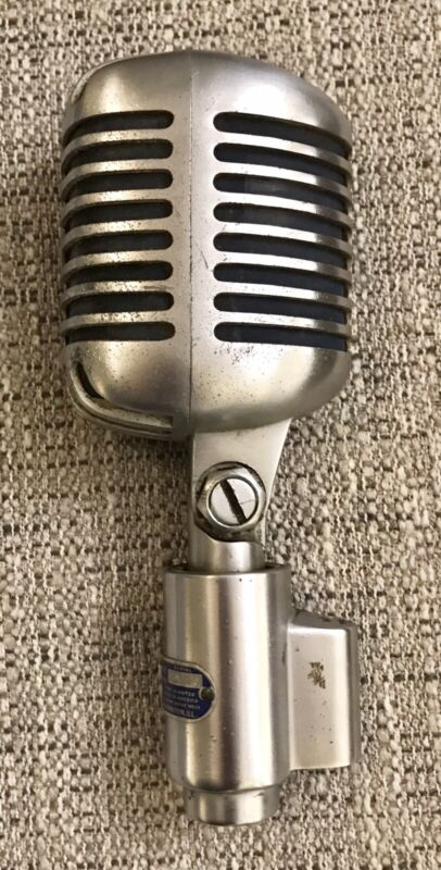 Vintage Shure 556S Unidyne Dynamic Microphone