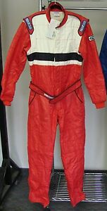 SPARCO-PRO-CUP-5-NOMEX-RACING-SUIT-FIRESUIT-SIZE-56-NASCAR-BOOT-CUT