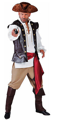 Pirat Piraten Seeräuber Freibeuter Anzug Kostüm Herren Karneval - Freibeuter Kostüm Herren