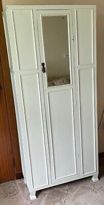 Antique 20th Century Art Nouveau Style Single Wardrobe *** Collection only ***
