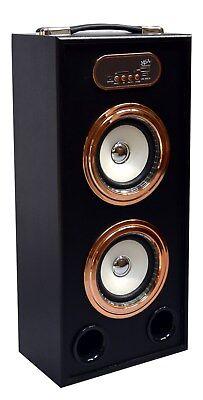 44cm MOBILE BLUETOOTH LAUTSPRECHER - ROSÉ GOLD-BLÜTOOTH-RADIO FM-AUX-USB-SD-BX13