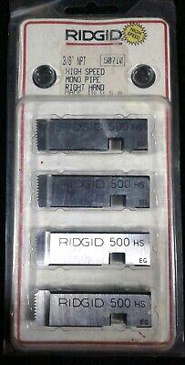 Ridgid Genuine Parts 50710 38 Npt High Speed Mono Pipe Right Hand 500 Hs