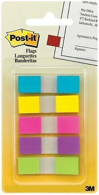 Post-it Bright Colors Flags Assorted Colors 100 Ea