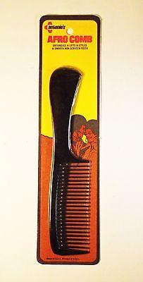 Vintage 1970's Plastic Afro Rake Pick Comb