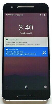Google Nexus 6P - H1511 Black - 32GB - GSM & CDMA UNLOCKED - MODERATE Condition