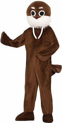Brown Walrus Adult Unisex Costume Mascot Seal Marine Mammal Animal Standard - Seal Costume Adults