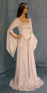 Medieval Gothic Celtic dress handfasting Elven  Renaissance CUSTOM made