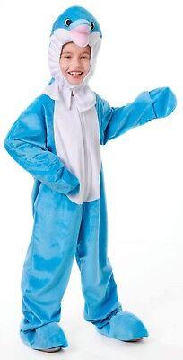 Tiere & Natur Delphin Kostüm Kinder Meerestiere Verkleidung - Meer Tier Kostüm Kinder