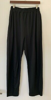 Henrik Vibskov Women's Pull-on 100% Tencel Pants in Black Size Medium - NWOT