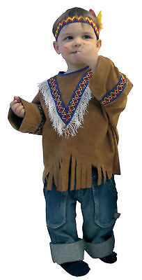 Kinder Western Kostüm (Indianer Kostüm Western Karneval Kinder Gr.86/92)