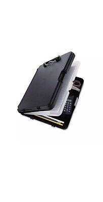Saunders Workmate Ii Storage Clipboard 12 Capacity Holds 8-12w X 12h Black.