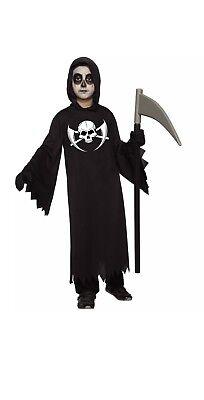 Dark Reaper Halloween Costume Size Small 4-6 For Boys  (Reaper Costume For Halloween)