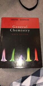 General Chemistry-Ebbing•Gammon textbook