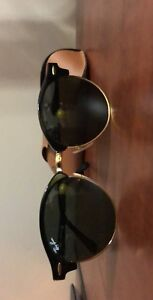 Authentic RayBan round clubmaster's