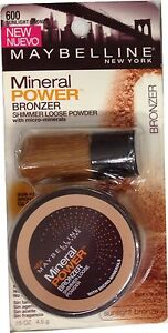 Mineral Power Bronzer Illuminator Powder Foundation Finishing Veil Concealer