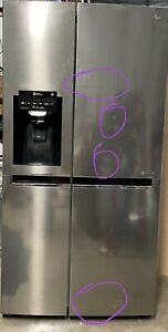 Lg side by side fridge freezer/ice maker