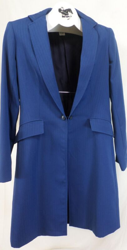 Reed Hill Saddleseat Ld 3p suit Bright Navy Tone on Tone poly size10 - USA