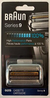 BRAUN 92S SERIES 9 CASSETTE SHAVER REPLACEMENT Head Silver