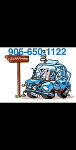 $$$ CASH FOR YOUR SCRAP VEHICLE $100-1000 $$$