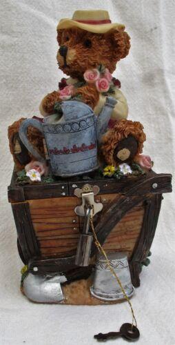 "7"" Teddy Bear Bank Figurine"