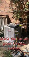 H-VAC , HEATING AND COOLING