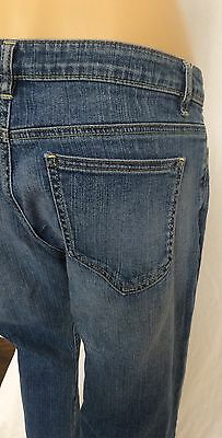 DKNY boot cut size 8 denim Womens Jeans blue mid rise stretch