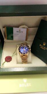 Rolex submarine automatic watch
