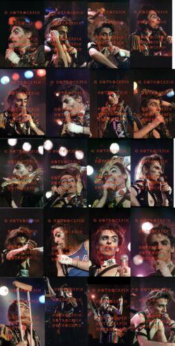 21 DIFFERENT 4X6 PHOTOS OF ALICE COOPER IN CONCERT 1981
