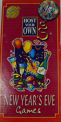 Host Your Own – New Year's Eve Games of Luck, Skill & Fun - Cheatwell Games ()