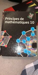 Math g10 textbook (french)