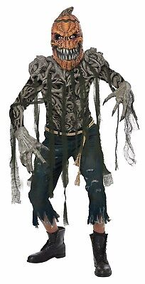 Pumpkin Creature Halloween Monster Adult Men Costume  - Monster Costume Men
