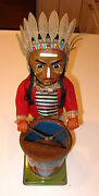 Indian Drummer Toy