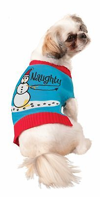 Funny Naughty Bad Dog Knitted Sweater Elf Pet Costume Dog Cat Christmas - Bad Elf Kostüm