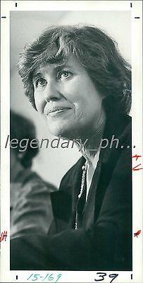 1980 Syndicated Columnist Erma Bombeck Original News Service Photo