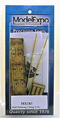 Model Expo Tools. Hull Planking Clamp Set Of 6 (less Than 3/16 ). Item# MX 103.