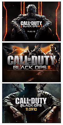 RGC Huge Poster - Call of Duty Black Ops I II III PS4 PS3 XBOX ONE 360 - (Call Of Duty Black Ops Ii Ps4)