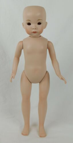 """Dianna Effner ~ 19"""" ALL-BISQUE JENNY DOLL ~ Ready for Finish ~ Expressions 1992"""