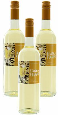Glühwein aus Weißwein 3x 0,75l - Feuer & Flamme - Prämiert aus Deutschland