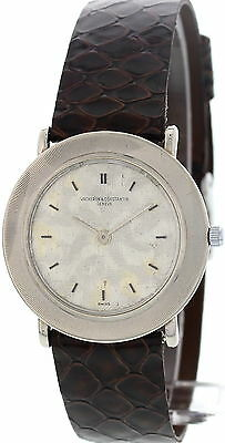 Men's Vacheron Constantin Vintage 18K White Gold Watch 6704