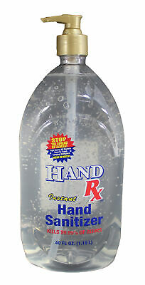 Hand RX Instant Hand Sanitizer 40 FL Oz 62% Ethyl Alcohol Shipped from Florida