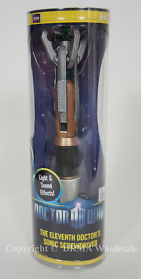 Authentic DR WHO Eleventh 11th Doctor Sonic Screwdriver Licensed Toy Lights NEW on Rummage