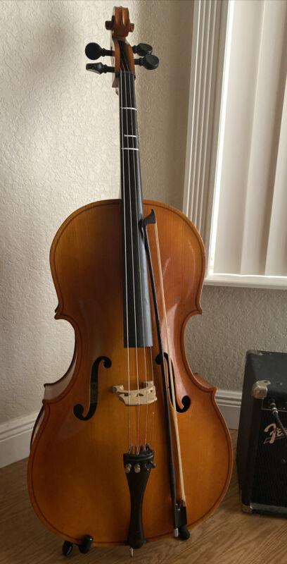 1991-1992 USA Engelhardt Model 120 Full Size Cello (case upon request)