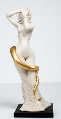 Ernst Fuchs - Frau Lot - Skulptur, teilvergoldet - signiert und nummeriert online kaufen