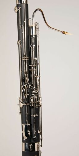 Tempest Bassoon Resin Model High D Key 2 Bocals Deluxe Case 5-Year Warranty