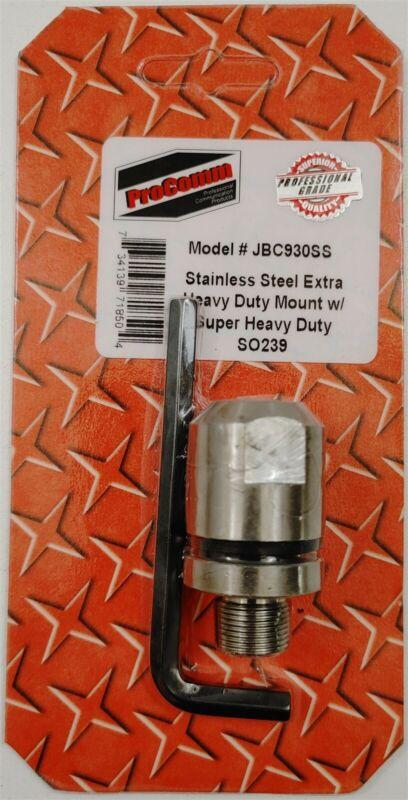 Procomm JBC930SS Super Heavy Duty CB Radio Stainless Steel Antenna Stud