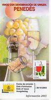 España Vinos Con Denominación De Origen Penedes Año 2003 (df-993) -  - ebay.es