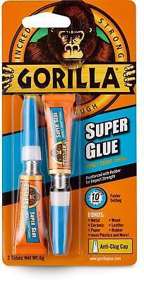 Gorilla Super Glue 6 G Clear