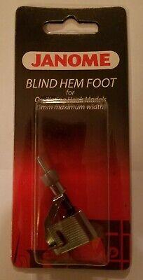 5mm Max Width Janome Blind Hem Foot For #200130006 Oscillating Hook Models