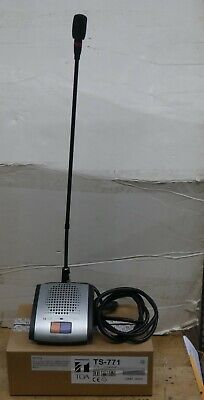 Chair Man Unit Station Ts-771 Series Conference System W Microphone Ts-774 Mint