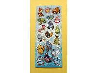 Stickeralbum Sticker Sandylion Stripe Papier Kromekote Pokemon NEU OVP
